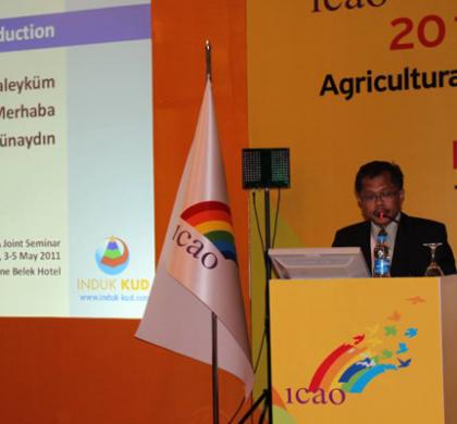 Usung Tema Koperasi Pertanian Pada Seminar ICAO