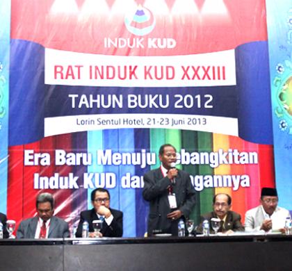 Herman Wutun Jabat Kembali Ketua Umum Induk KUD