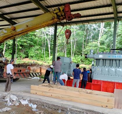 Pembangunan Pabrik CPO Mini Hampir Selesai